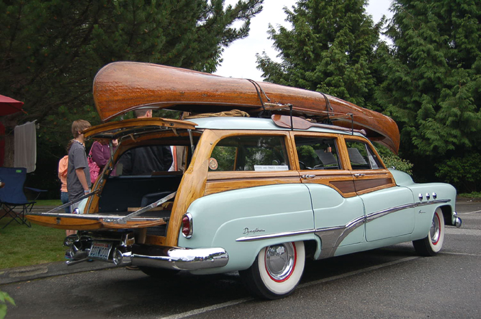 Beautiful original 1951 Buick Super Estate Wagon 5-door wood bodied station wagon