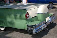 1957 Ford Fairlane 500 Continental Kit Painted Stock Cumberland Green (M0755) and White