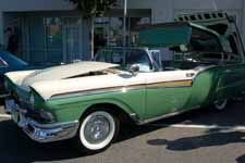 1957 Ford Skyliner has Classic Anodized Gold Fairlane-500 Side Panel Trim
