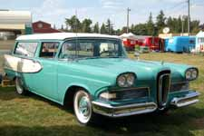 Rare 1-year only 1958 Ford Edsel Roundup 2 door Station Wagon