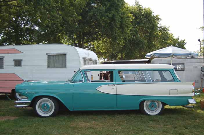 Beautifully restored 1958 Edsel Roundup 2 door station wagon