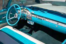 Beautifully Restored 1958 Ford Retractable Hardtop With Gulfstream Blue Upholstery