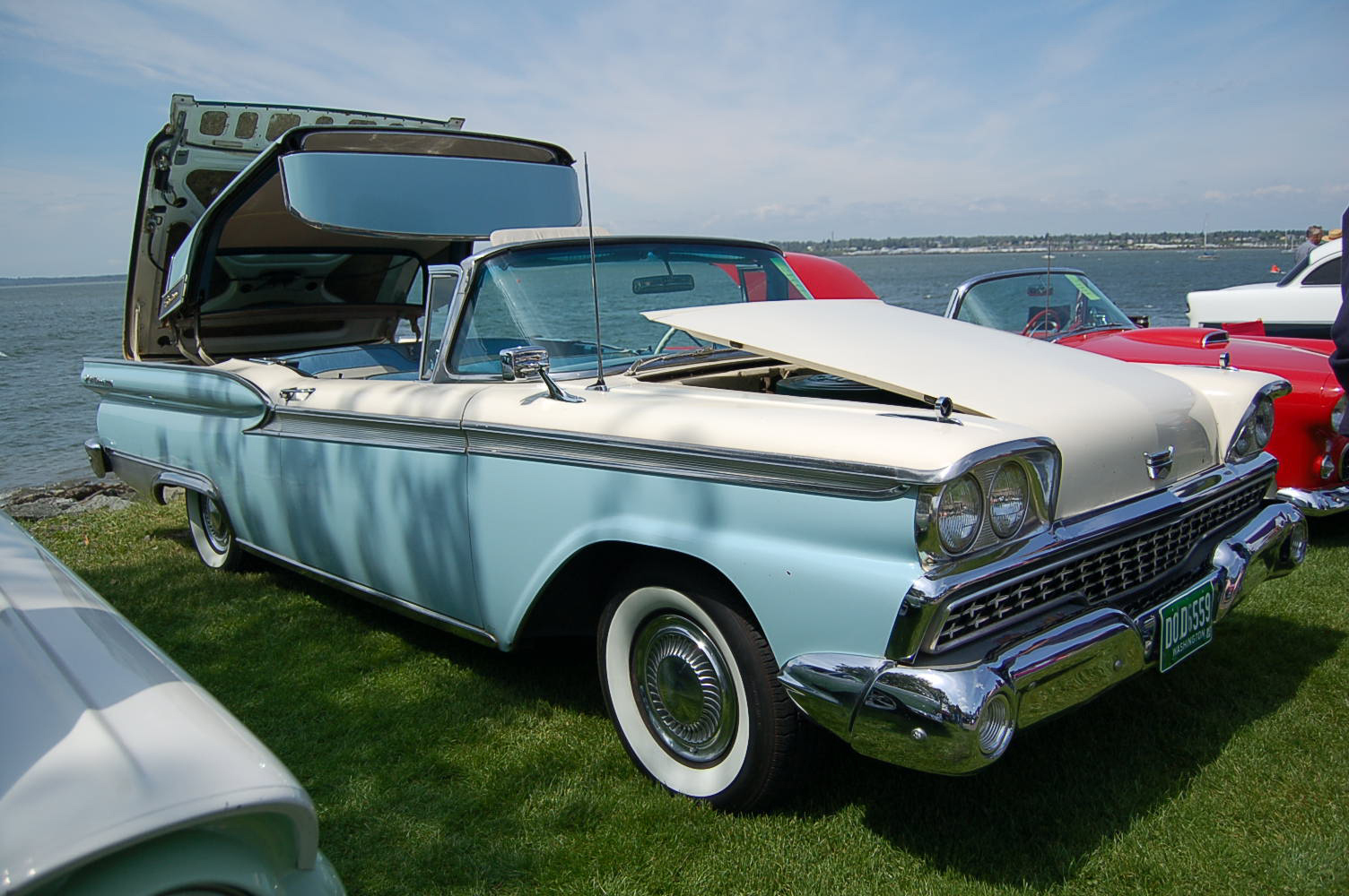1959 ford galaxie skyliner retractable hardtop photos and