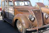 Rare and complete 1937 Ford woodie station wagon, for restoration project