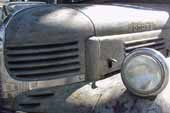 Un-restored antique Dodge pickup truck with awesome worn patina